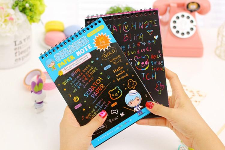 Rainbow Scratch Note Lớn - Giao Màu Ngẫu Nhiên