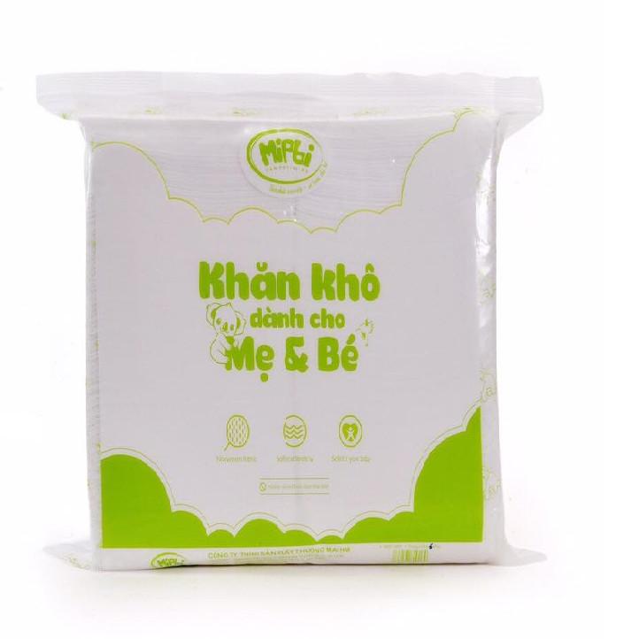Combo 3 Gói Khăn khô đa năng Mipbi loại bản to (600g/Gói)