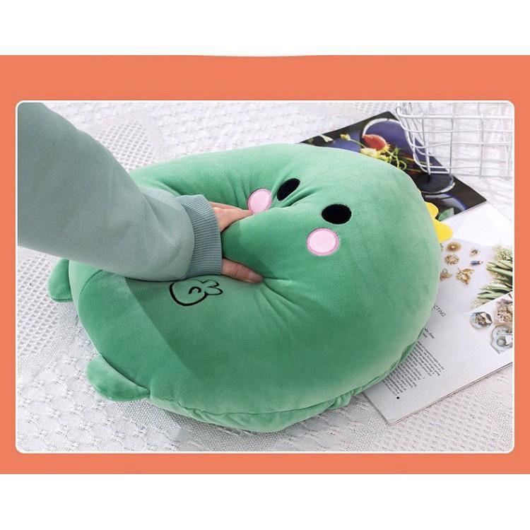 Chăn Gối Văn Phòng 3 Trong 1 phong cách hoạt hình dễ thươngGM024, Gấu Ngủ Kèm Mền siêu cute phù hợp mọi lứa tuổi