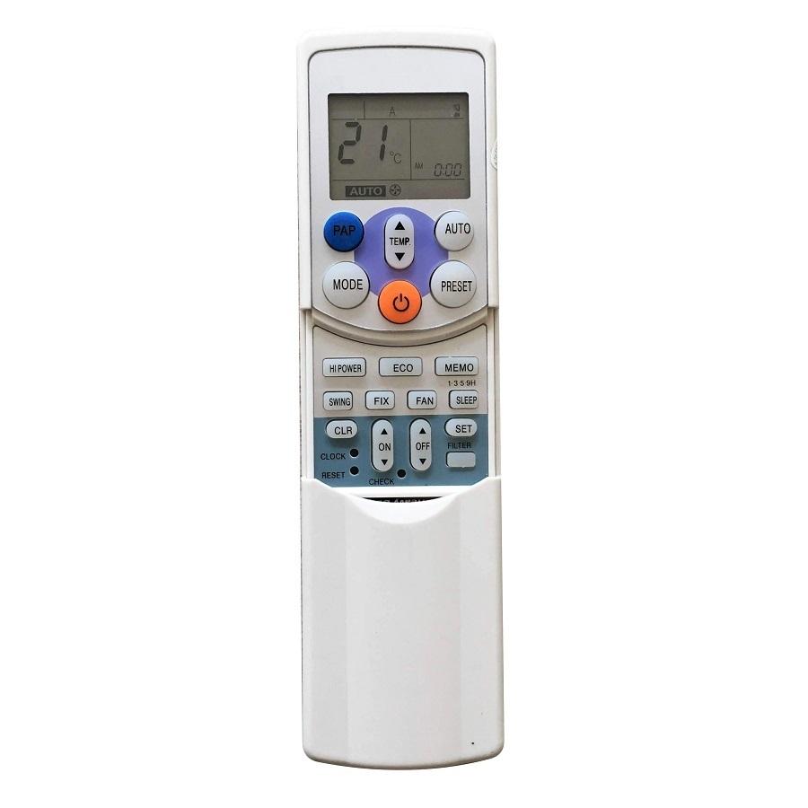 Remote Điều Khiển Dành Cho  Máy lạnh, Máy Điều Hòa Toshiba WC-H01EE - Hàng Nhập Khẩu