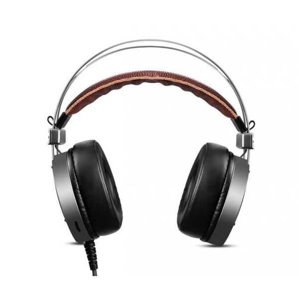 Tai nghe 7.1 chuyên game EAGLEND F2 - khung kim loại bền chắc (Đen nâu)  Hàng Chính Hãng