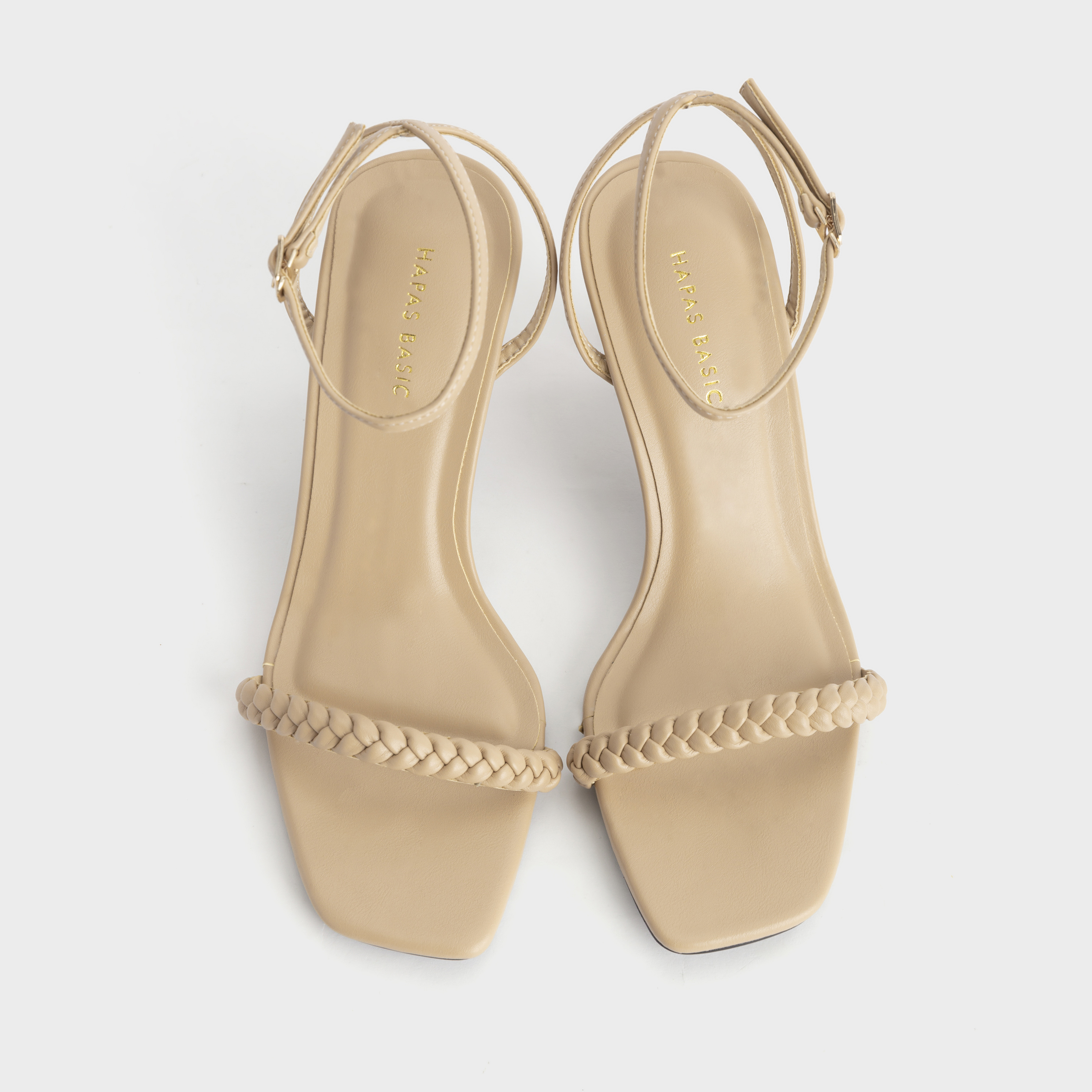 Giày Cao Gót Nữ Quai Tết Gót Nhọn 7Phân HAPAS - CG77113