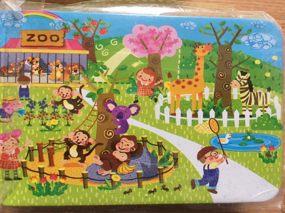 Ghép hình puzzle 60 miếng - Phát triển tư duy
