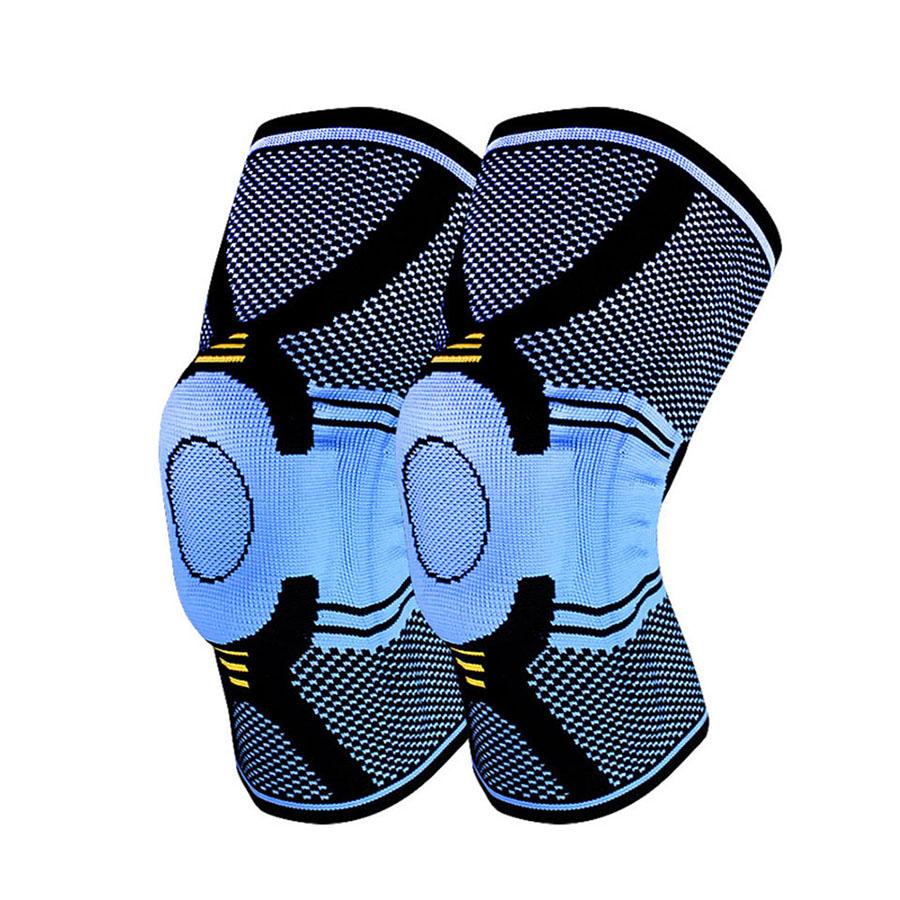 Đai bảo vệ khớp gối lót silicone cao cấp Aolikes AL7725 (1 chiếc)