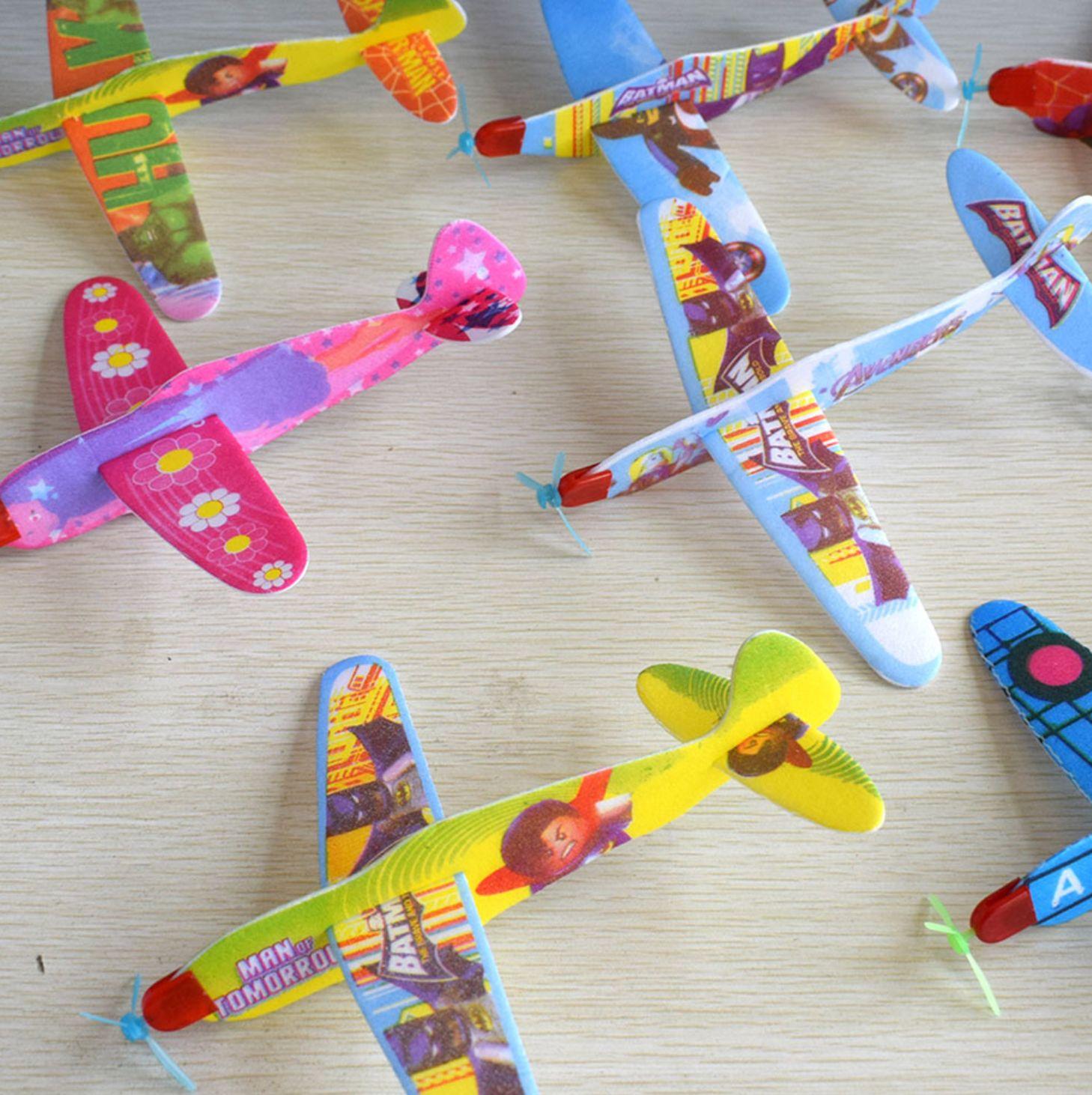 Đồ chơi máy bay xốp độc đáo an toàn cho bé - Giao màu ngẫu nhiên
