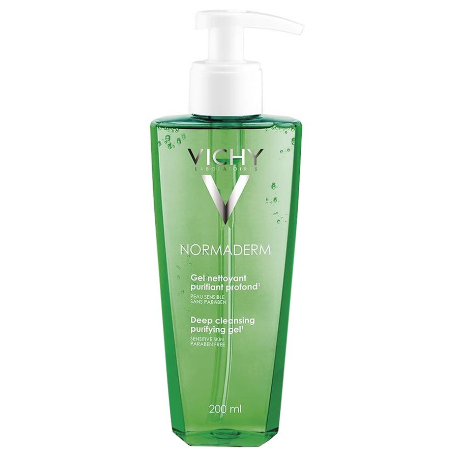 Gel Rửa Mặt Ngăn Ngừa Mụn Vichy Normaderm Deep Cleansing Purifying Gel 200ml - 100553345