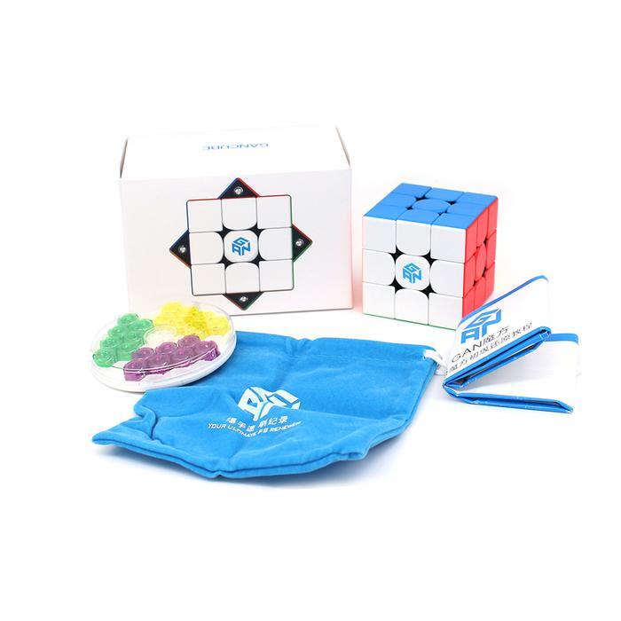 Rubik 3x3 GAN 356 M 2020 with GES có nam châm bản cao cấp đủ phụ kiện mã RUBIK GAN356M-2