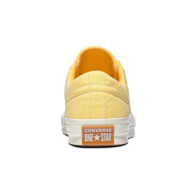 Giày Converse One Star Sunbaked Butter Yellow Men Shoes - Low - 164358C