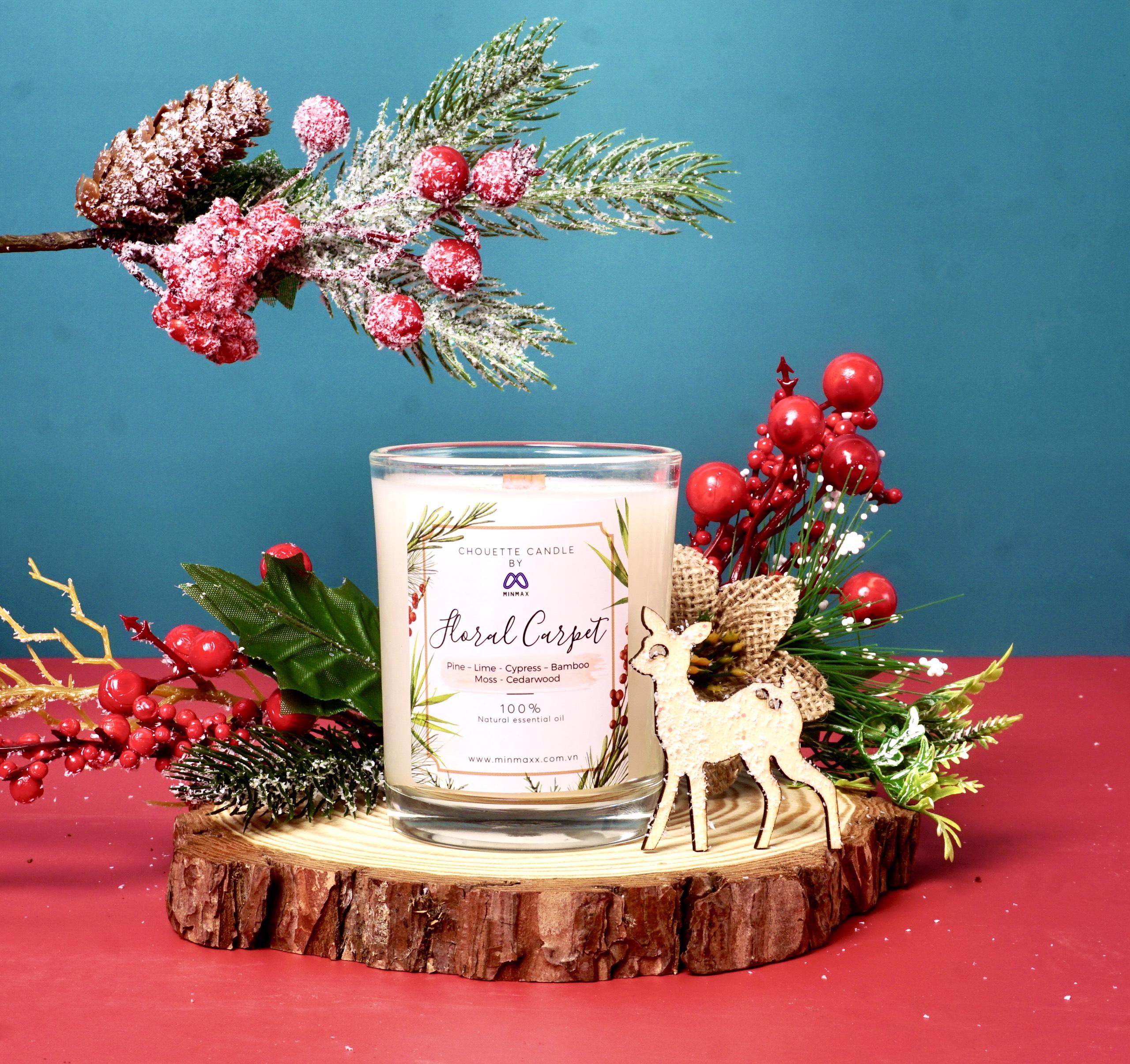 Nến thơm Chouette MinMax Floral Carpet 182g