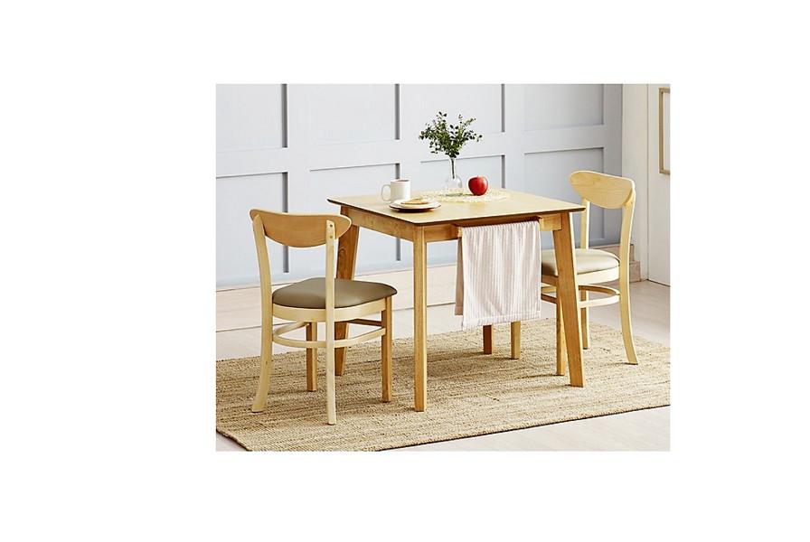 Bộ bàn ghế  VIVA bàn vuông 2 ghế