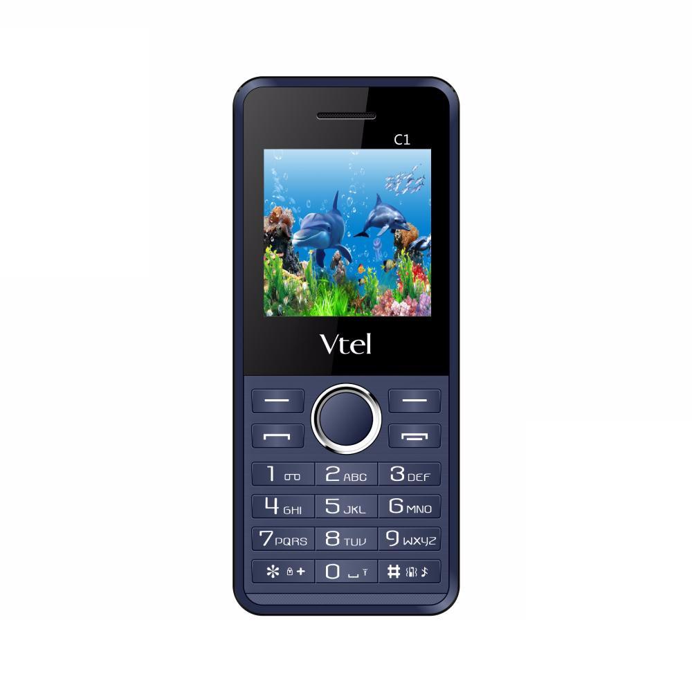 Điện thoại di động GSM Vtel C1 - Hàng chính hãng - Xanh