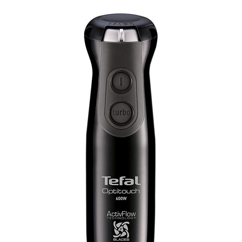 Máy xay sinh tố cầm tay 16 tốc độ Tefal HB833840 600W (Đen) - Hàng chính hãng