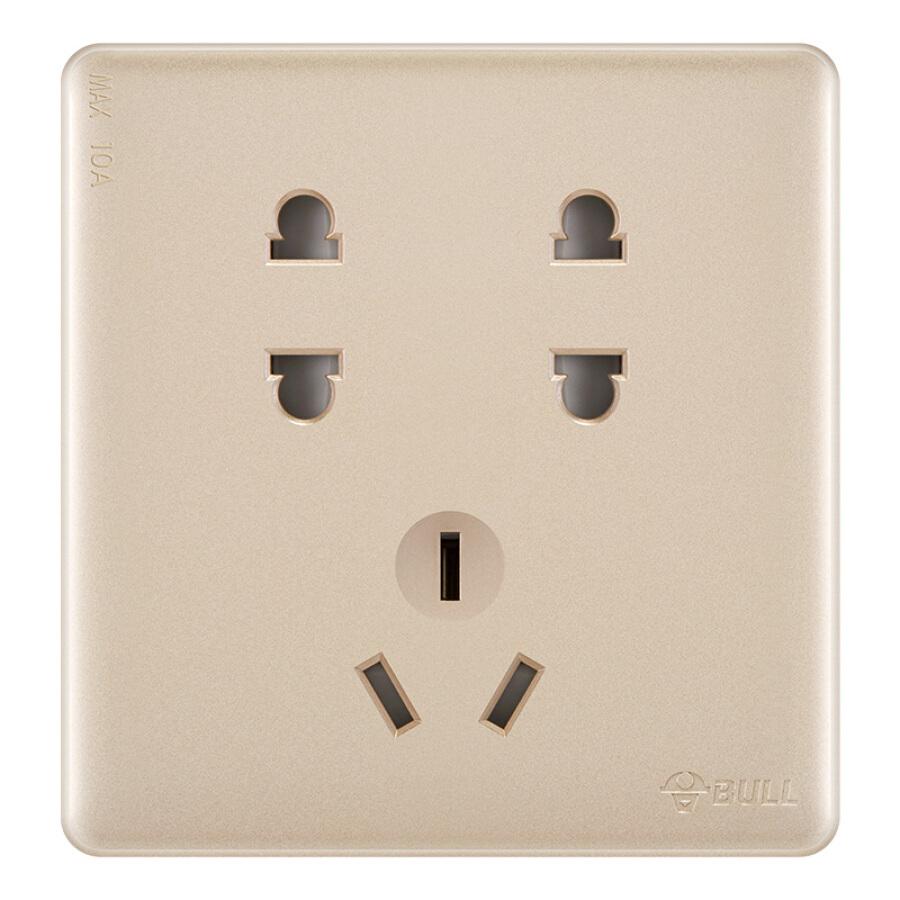 Bull BULL switch socket G28 series seven-hole socket type 86 panel G28Z323 U6 rose gold concealed - 24223477 , 7195730927147 , 62_10460178 , 207000 , Bull-BULL-switch-socket-G28-series-seven-hole-socket-type-86-panel-G28Z323-U6-rose-gold-concealed-62_10460178 , tiki.vn , Bull BULL switch socket G28 series seven-hole socket type 86 panel G28Z323 U6
