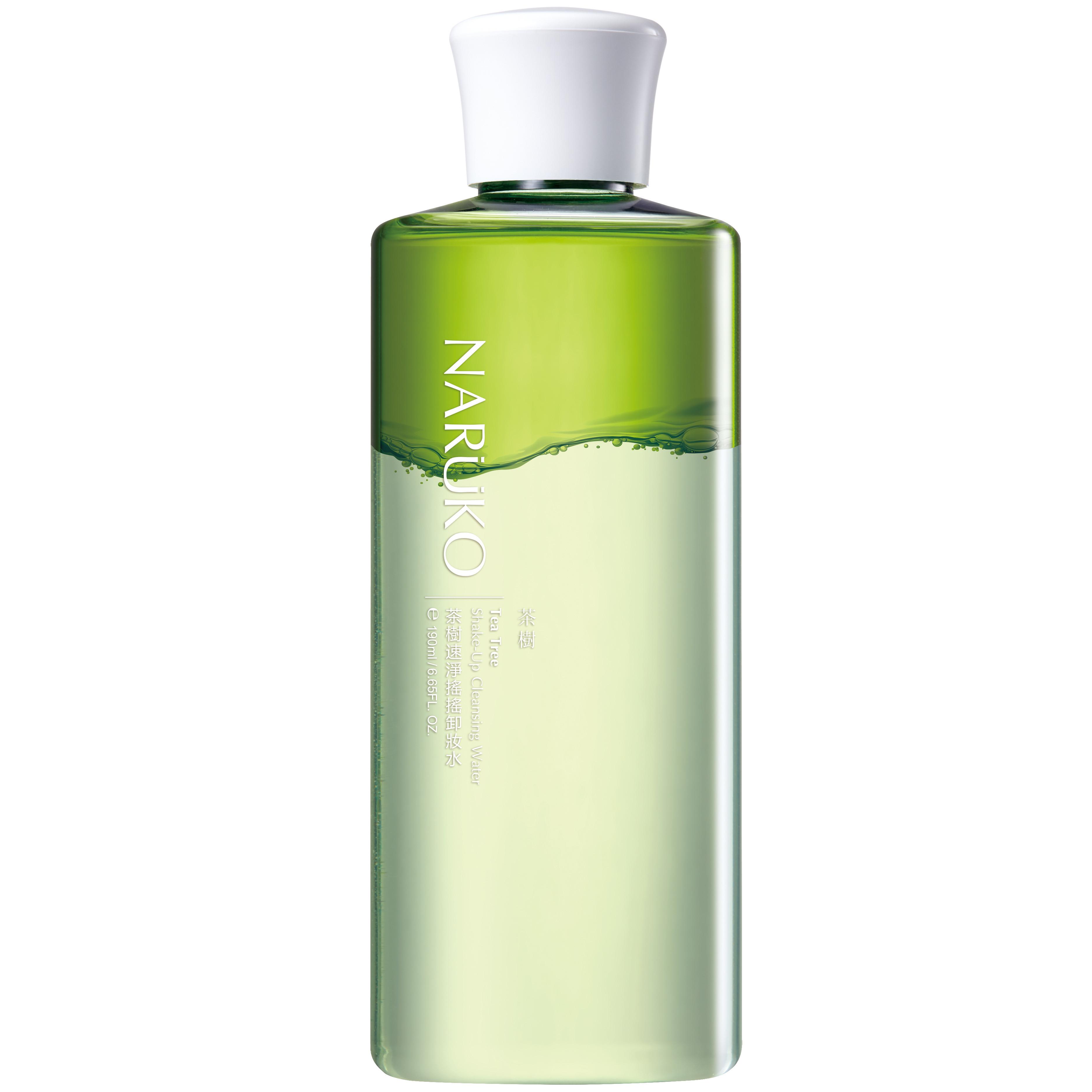 Naruko – Trà tràm – Nước tẩy trang 2 lớp – Tea Tree Shake-Up Cleansing Water 190ml