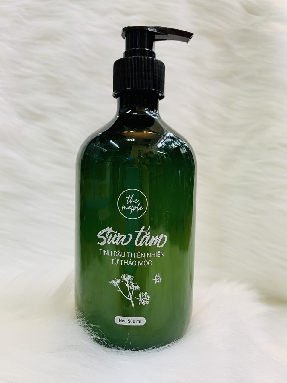 Sữa tắm tinh dầu thiên nhiên từ Thảo Mộc The Maple 500ml