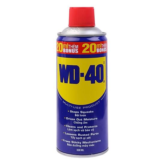 Dầu Bôi Trơn Chống Rỉ Sét Làm Sạch Thẩm Thấu Chống Ẩm Bảo Vệ WD-40 (300ml)