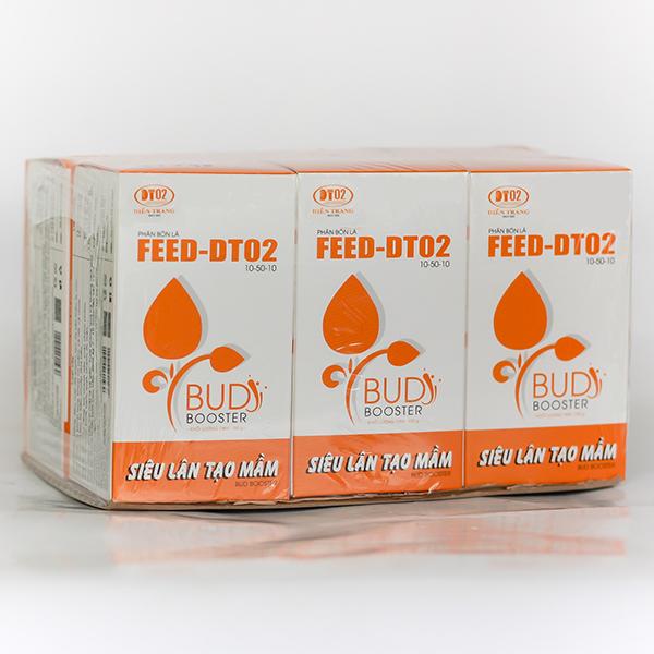 Combo 6 hộp phân bón lá FEED DT02 - Siêu Lân Tạo Mầm 100g kích ra hoa, đâm chồi, phòng bệnh