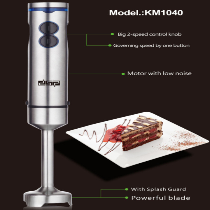 Máy xay sinh tố cầm tay đa năng 4 trong 1 DSP KM1040 công suất 700W - Hàng nhập khẩu