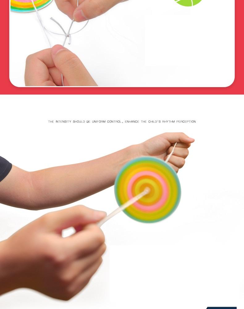Bộ đồ chơi thủ công làm bánh đà xoay Mideer Rotating Flywheel DIY MD1006