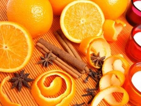 tác dụng của vỏ cam