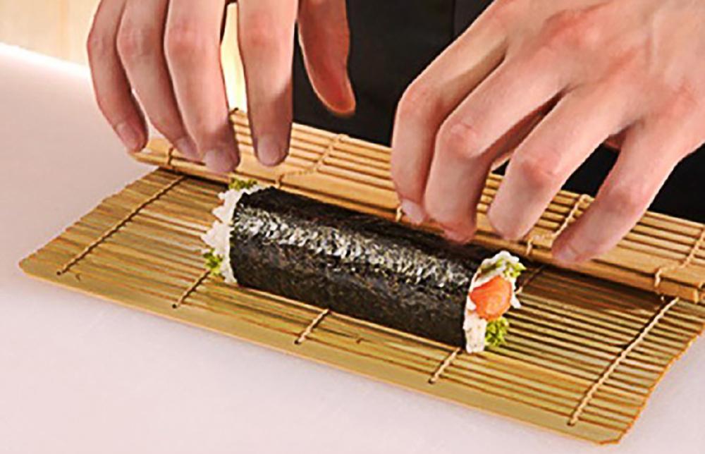 Mành Tre Cuốn Kimbab Sushi Hàn Quốc