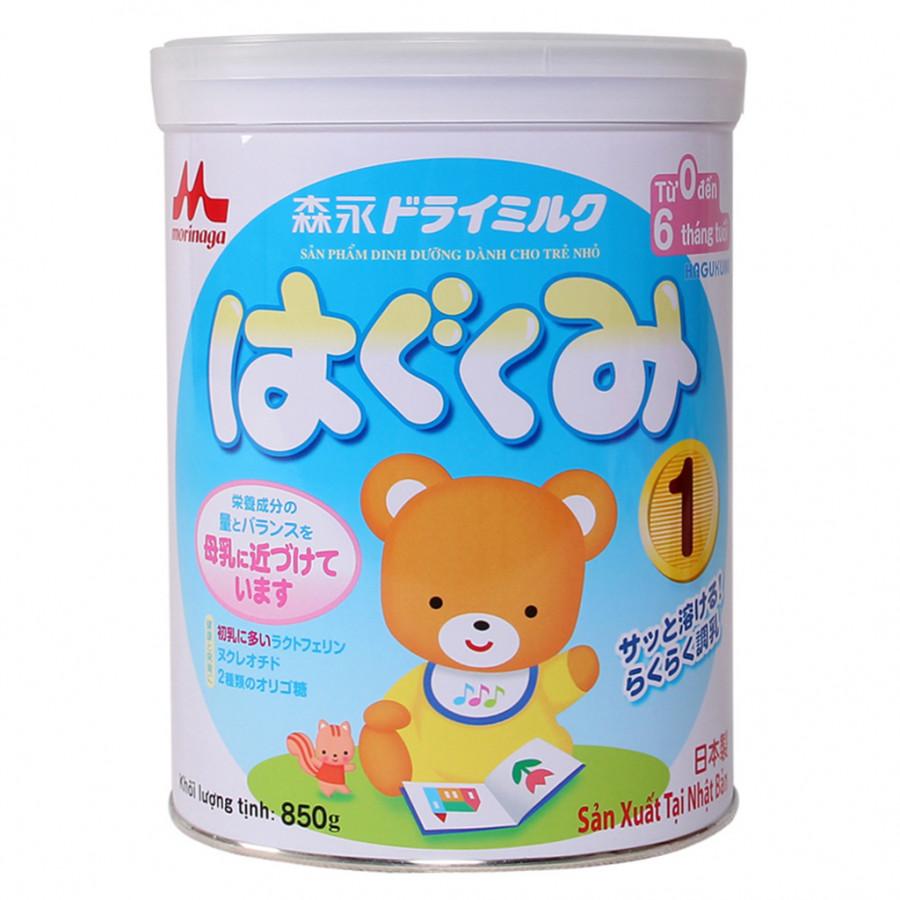 Sữa Bột Morinaga Hagukumi Số 1 (850g)