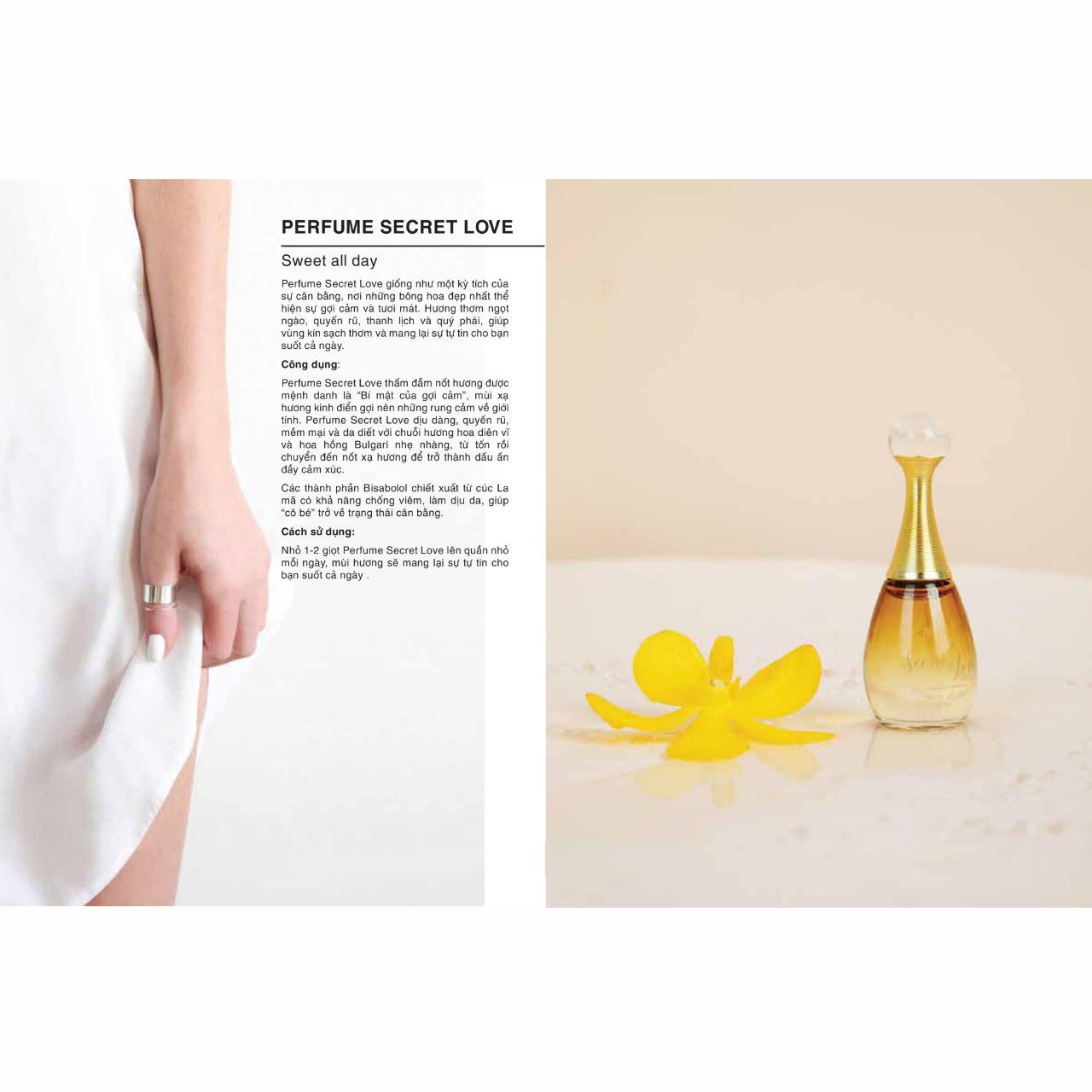 Nước hoa vùng kín Perfume Secret Love Sweet All Day 5ml - Lưu hương suốt 8 giờ đồng hồ