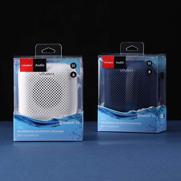 Loa TWS Bluetooth 5.0 VIVAN VS1 – Chống Nước IPX5, Pin 1800mAh, Âm Thanh Sống Động, Hỗ Trợ Thẻ Nhớ SD & USB – HÀNG CHÍNH HÃNG