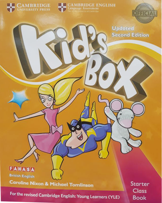 Kid's Box Second edition Class Book With CD-ROM Starters