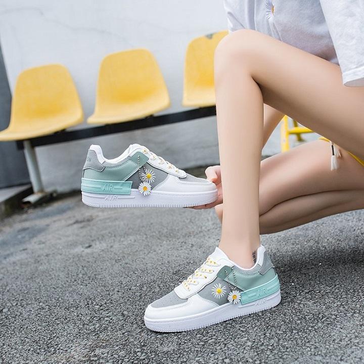 Giày Thể Thao Nữ Hoa Cúc GN61