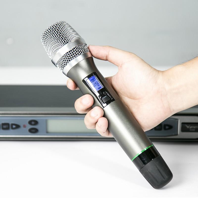 Micro  Không Dây Cao Cấp VietKTV C200 - Hàng chính hãng