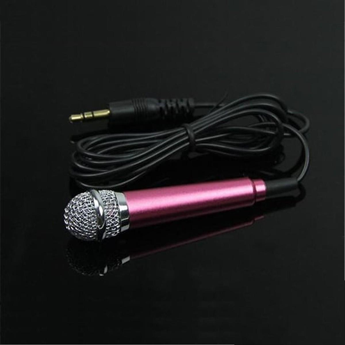 Micro hát karaoke trên điện thoại mini DT 309 - Hàng Nhập Khẩu (Giao Màu Ngẫu Nhiên)