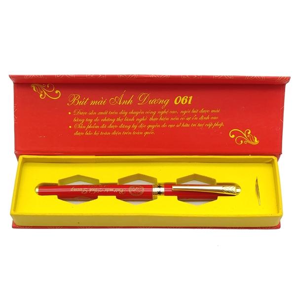 Bút Mài Ánh Dương AD061 - Màu Đỏ