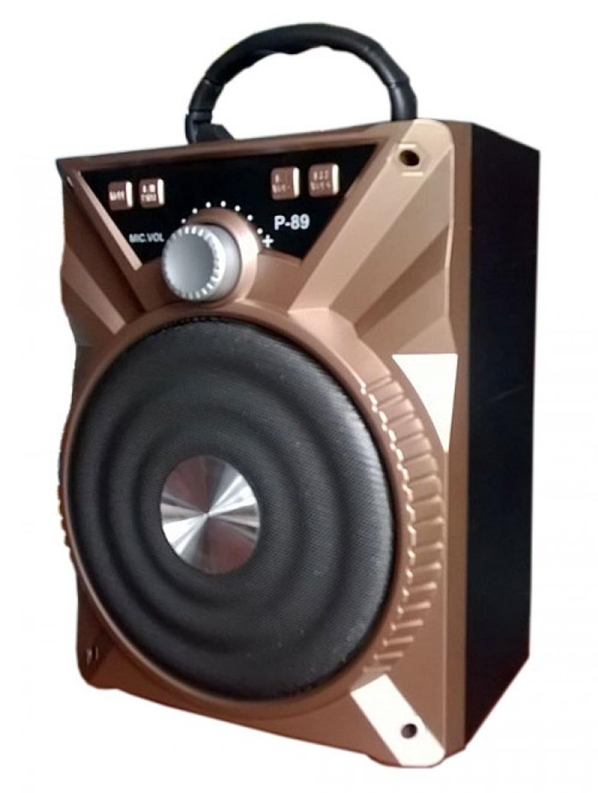 Loa Bluetooth P88/P89 (Kèm Mic) + tặng tai nghe nhét tai TVL69 màu ngẫu nhiên