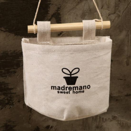 Túi Vải Treo Đựng Đồ Đa Năng Phong Cách Vintage - Giao mẫu ngẫu nhiên