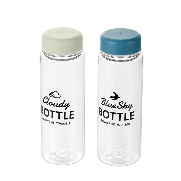 Combo bình uống nước có nắp đậy 500ml + 2 hộp nhựa 650ml màu xanh nội địa Nhật Bản - Giao màu ngẫu nhiên