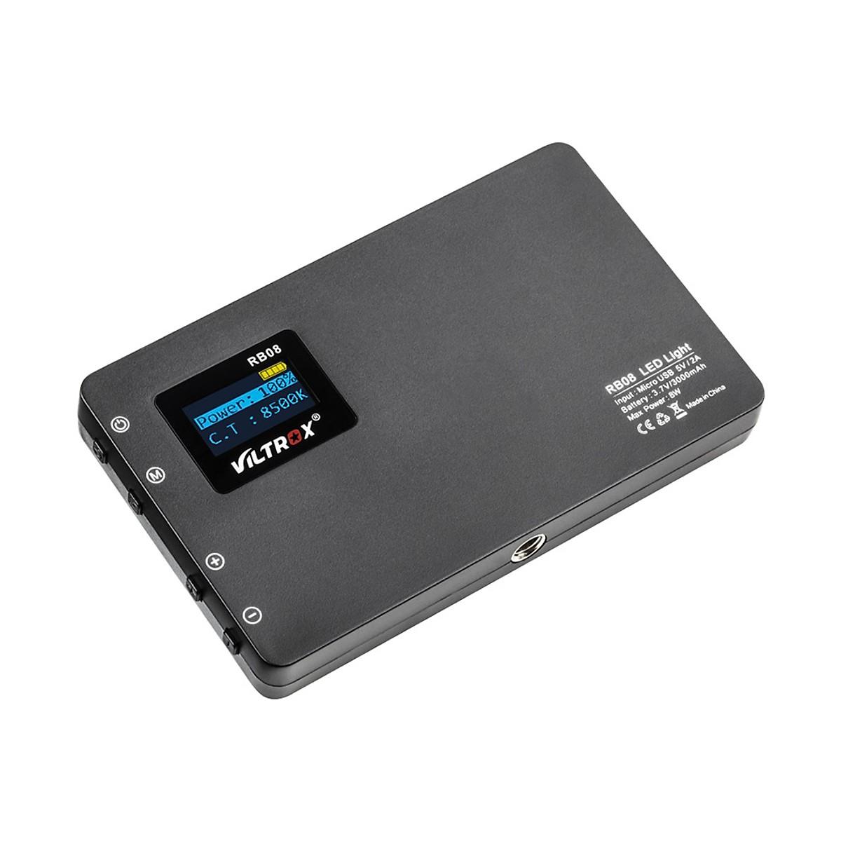 Bảng Đèn LED Di Động Viltrox RB08 (24 Bóng) (2500K-8500K) (CRI 95+) Hàng Nhập khẩu
