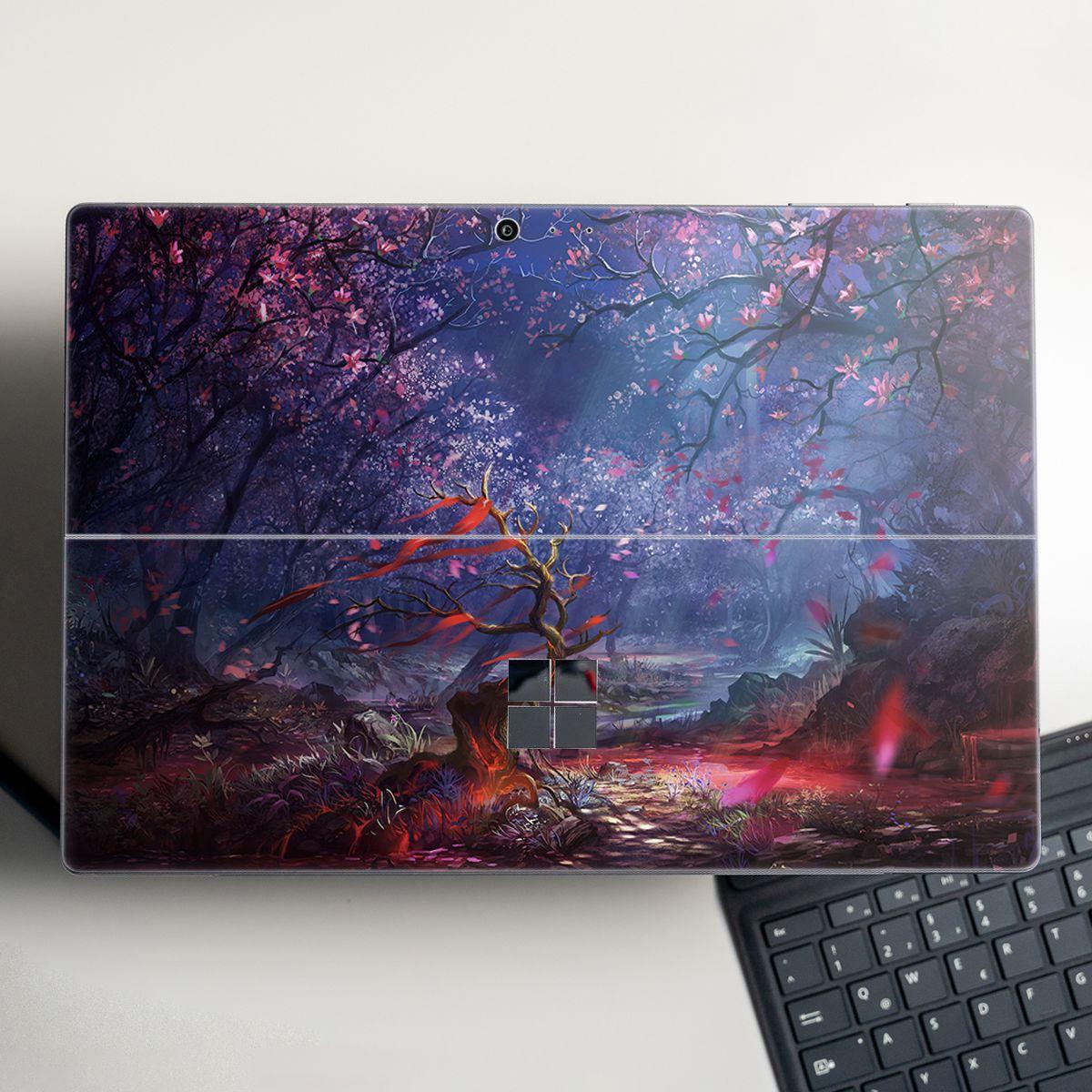 Skin dán hình Fantasy x03 cho Surface Go, Pro 2, Pro 3, Pro 4, Pro 5, Pro 6, Pro 7, Pro X