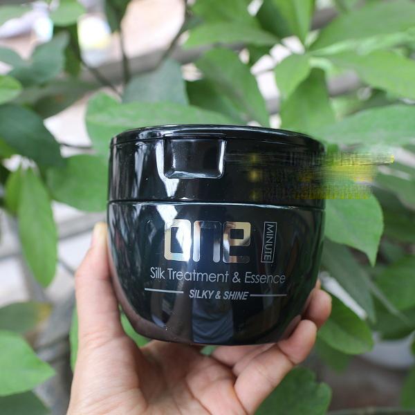 Kem phục hồi tóc 1 phút Sophia Platium One Minute Silk Treatment & Essence Hàn Quốc 450ml tặng kèm móc khoá