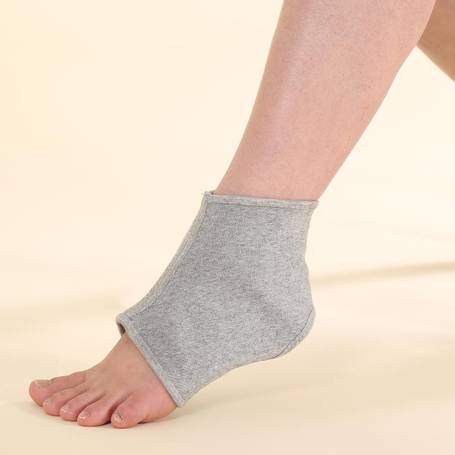 Đệm Bảo Vệ Cổ Chân Cao Cấp Qsupport (Ankle Support) - Xám (Size S)