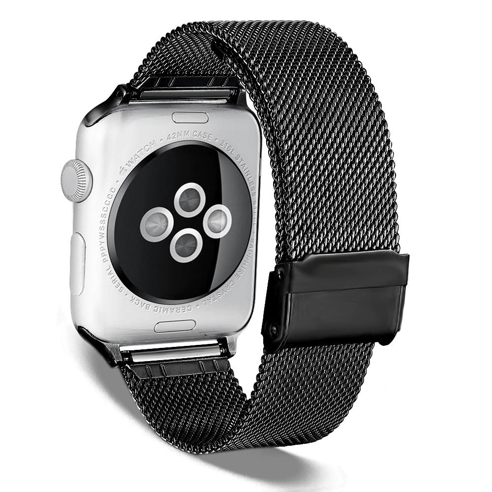 Dây Đeo Dành Cho Apple Watch Thép Không Gỉ Cao Cấp Nam Nữ Watchband for Apple Watch YE-014