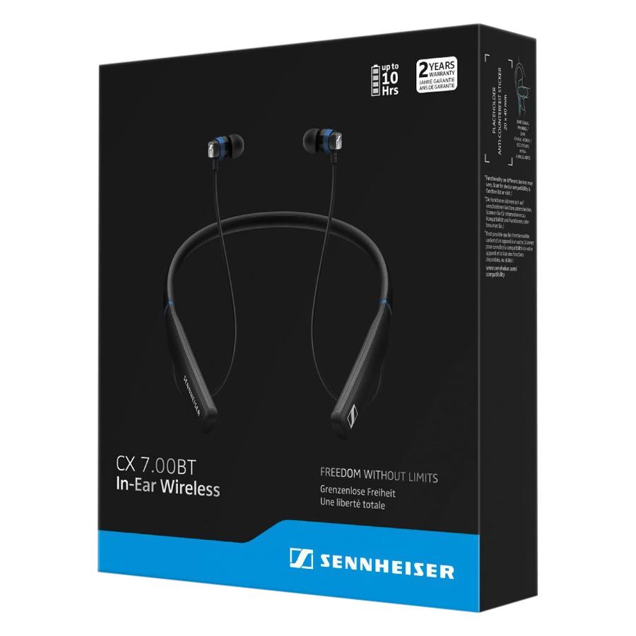 Tai Nghe Bluetooth Nhét Tai Sennheiser CX 7.00BT - Hàng Chính Hãng