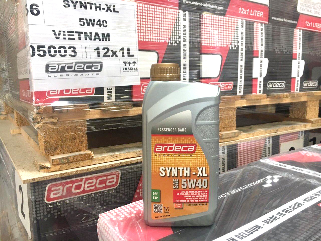 Combo 1 nón sơn cao cấp Ardeca + Nhớt dùng cho xe Hơi - xe Tay Ga Ardeca SYNTH-XL 5W40 (1l)