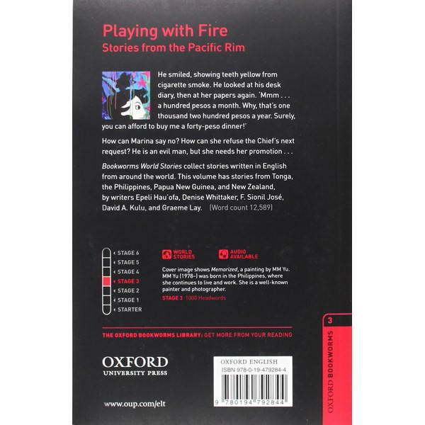 Oxford Bookworms Library (3 Ed.) 3: Playing with Fire: Stories from the Pacific Rim Audio CD Pack