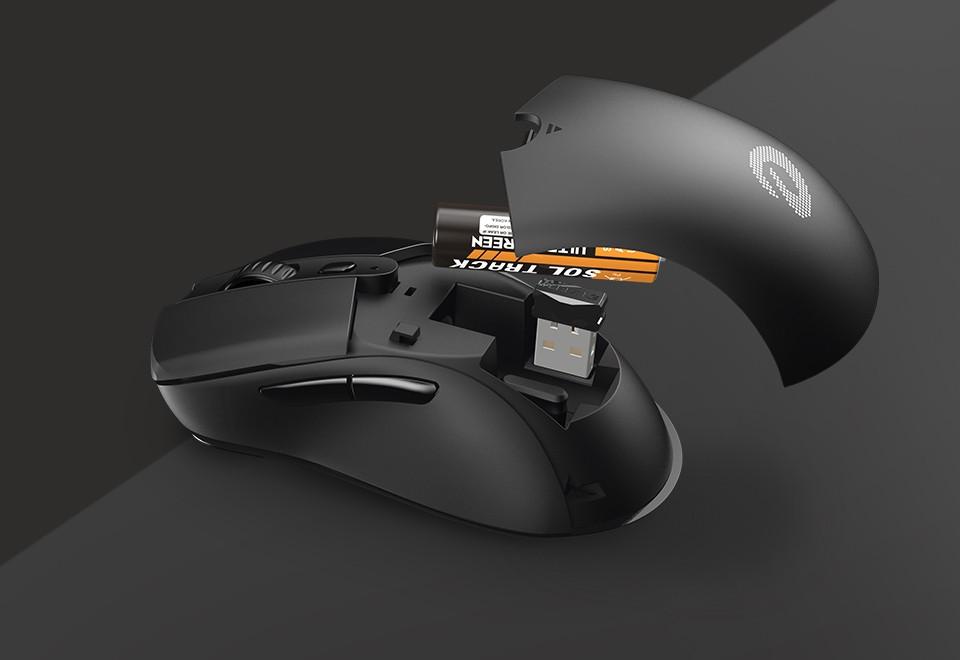 Chuột chơi game Wireless DareU A918 - Hàng chính hãng