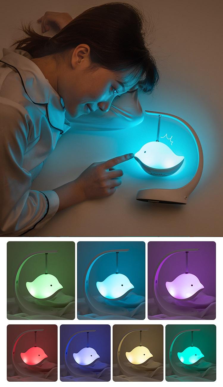 Đèn để bàn kiêm loa bluetooth - Món quà tặng công nghệ độc đáo và sáng tạo