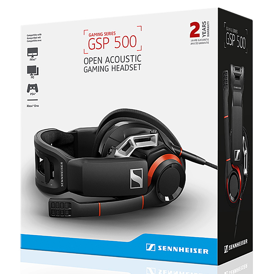 Tai Nghe Gaming Chụp Tai Sennheiser GSP 500 - Hàng Chính Hãng