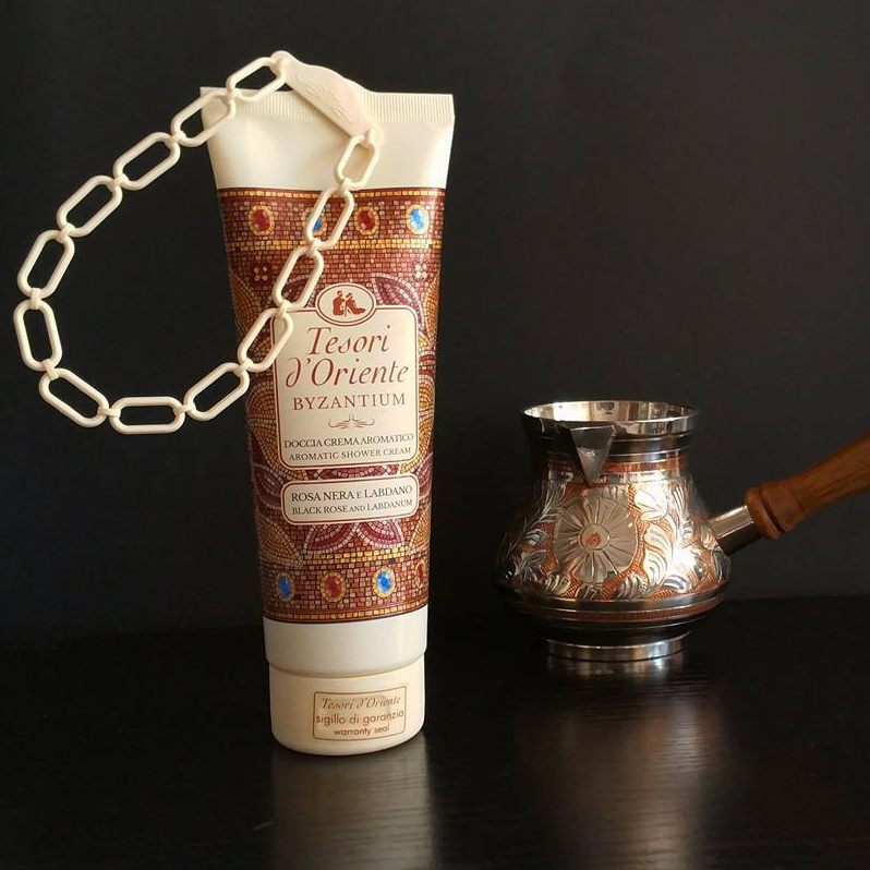 Sữa tắm xích hy lạp cổ đại Tesori d'Oriente Byzantium 250ml + Móc khóa