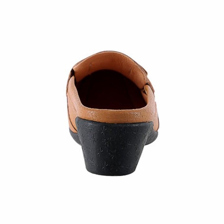 Giày sabo nữ da bò Huy Hoàng nhiều màu HT7935-36-37