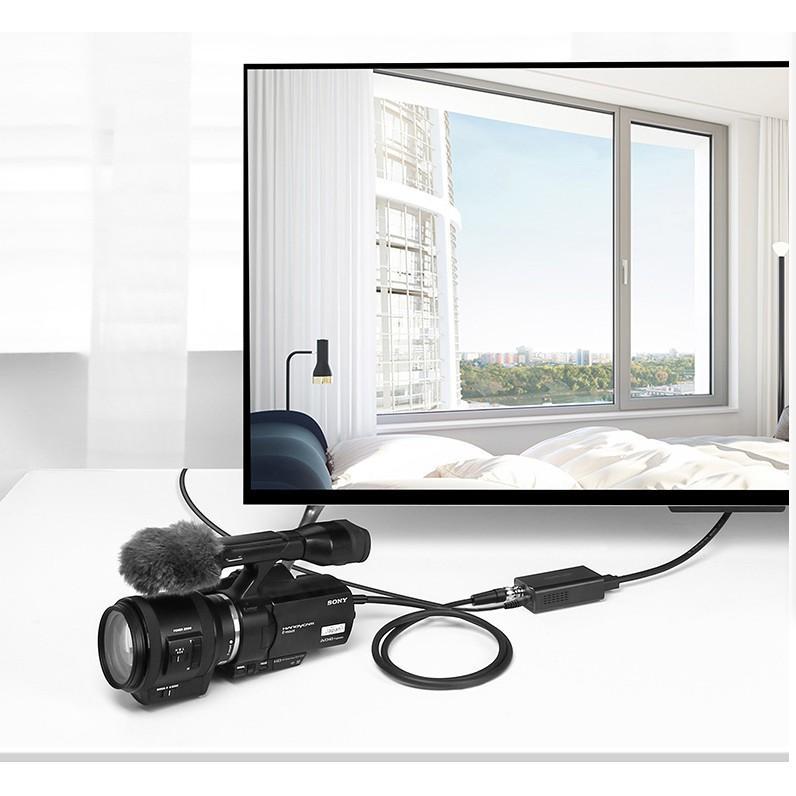 Cáp SDI cho máy quay, camera Ugreen 50925 - dài 1,5m chính hãng